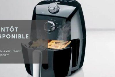 friteuse à air chaud silvercrest
